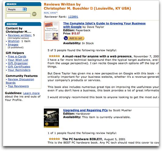 Amazon.com Reviewer #2