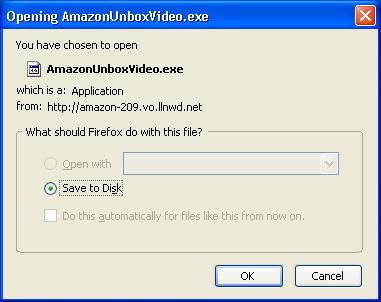 Installing Amazon Unbox