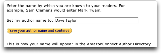 AmazonConnect choose a name