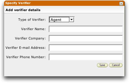 AmazonConnect specify verifier