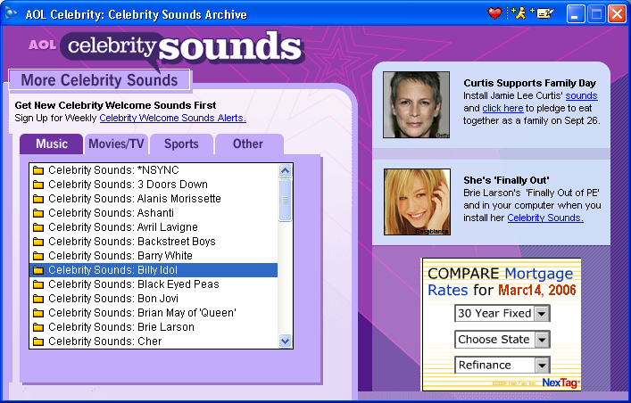 Solved Celebrity voices for AOL You've got Mail - Linux - Mac