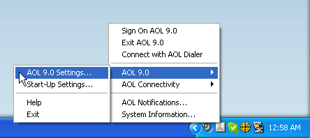 AOL 9.0 Toolbar