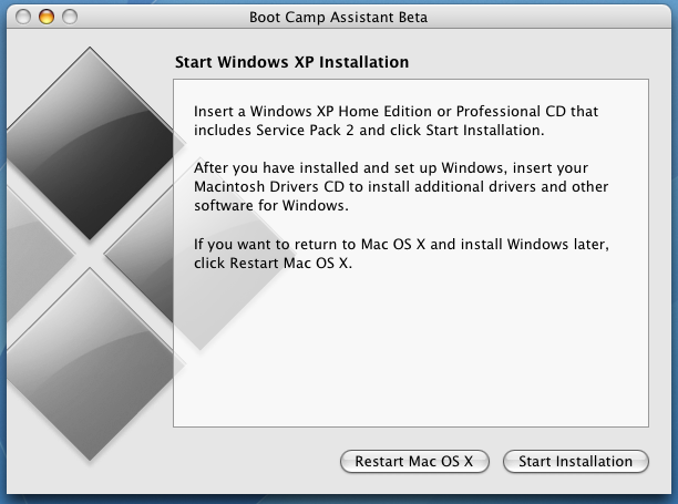 How do I install Windows XP on my Mac using Boot Camp? - Ask Dave ...