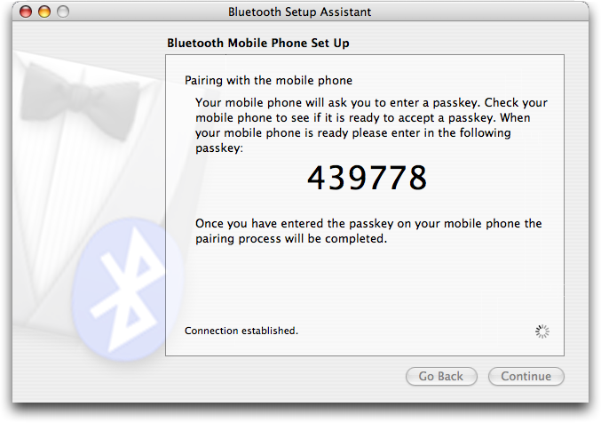 Apple Bluetooth Setup Code: Motorola RAZR V3c
