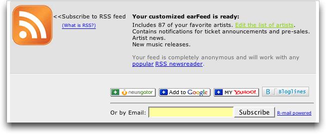 Earfeeder: Built your Custom RSS Feed!
