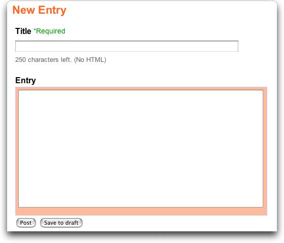 eBay Blog: New Entry