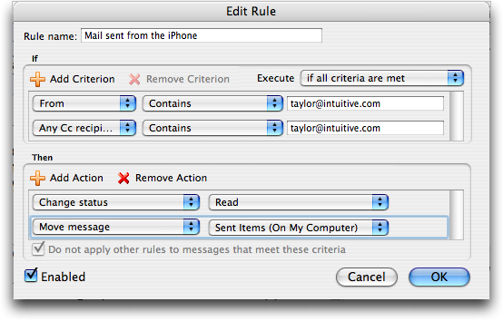 how to set up my zimbra email on my iphone