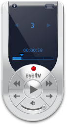 EyeTV on a Mac: remote control!