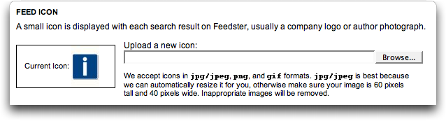 Feedster Default Icon