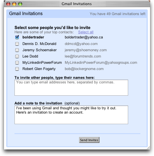 Has gmail changed its invitation system ask dave taylor gmail invitation generation 2 stopboris Image collections