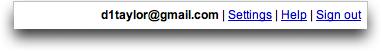Gmail Navbar Right