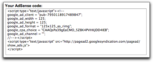 Google AdSense: Google Pack Referral Code