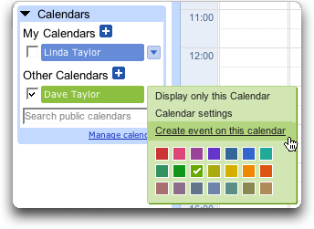 Google Calendar: Create Shared Event