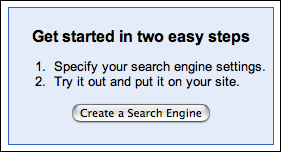 Get Started with Google Coop Custom Search Engine