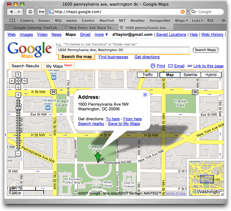 How Can I Embed A Google Map On My Web Page Ask Dave Taylor - My address google maps