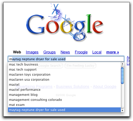 Mac OS X Apple Safari Browser: Google search history cache