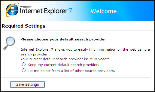 How Do I Change The Default Search Engine In Internet
