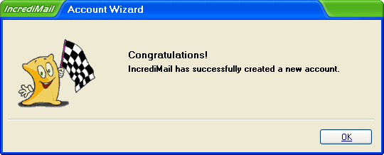 Incredimail Account Wizard 4