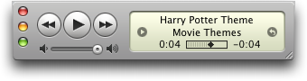 Harry Potter ringtone in Apple iTunes