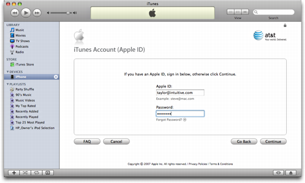 how to activate iphone on itunes how do i activate my at amp t apple iphone ask dave 7737