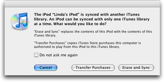 how to delete synced from itunes library