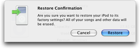 iTunes Update: Are you sure you want to restore to get rid of your max maximum volume limit?