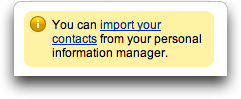 LinkedIn: Import Contacts