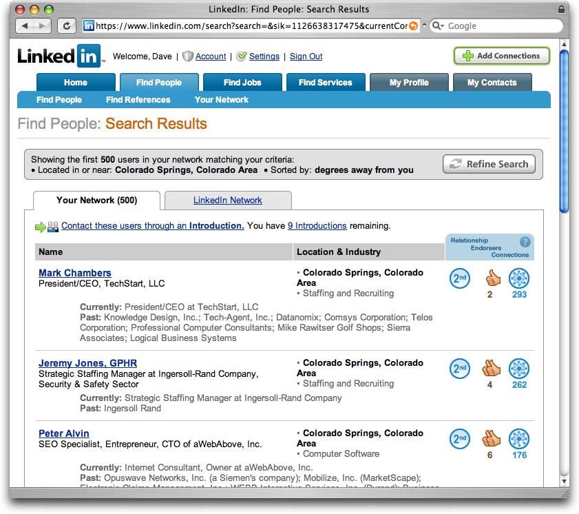 linkedin search people - Linkedin Jobs Search Finding Jobs Using Linkedin