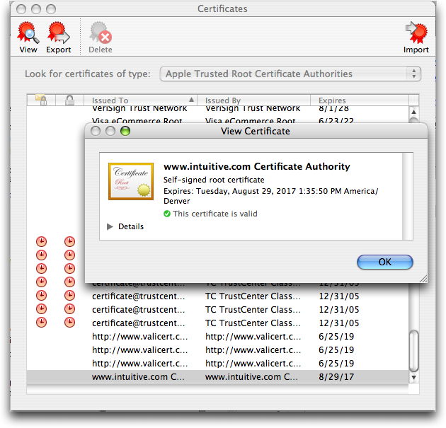 How do I install a trusted root certificate on my Mac? - Ask Dave Taylor