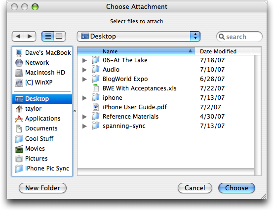 how to delete message attachments on mac