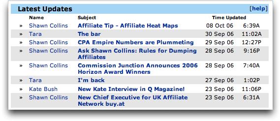 Latest MySpace Blog Updates