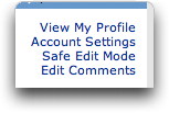MySpace Profile Editor: Safe Mode