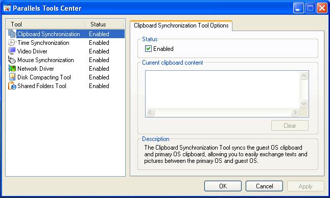 Parallels Desktop: Installing Parallels Tools 7
