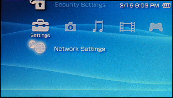 Sony PSP: Network Settings