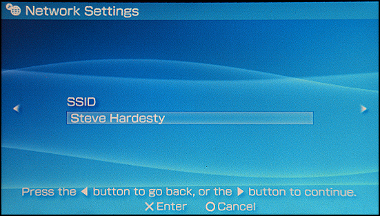Sony PSP: Settings: Settings