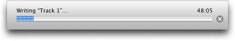 Roxio Toast 7 Titanium for Mac OS X: Copy DVD: Writing to Media
