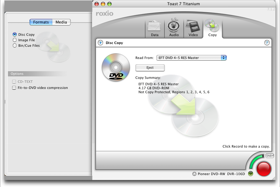 how do i copy a dvd on my mac using toast ask dave taylor rh askdavetaylor com Roxio Pro 2012 Roxio Capture