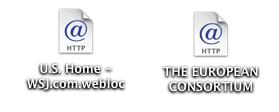Safari in Mac OS X: Desktop Web Site / URL Shortcuts