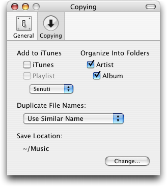 How do I copy music onto my Mac from my husband's iPod? - Ask Dave