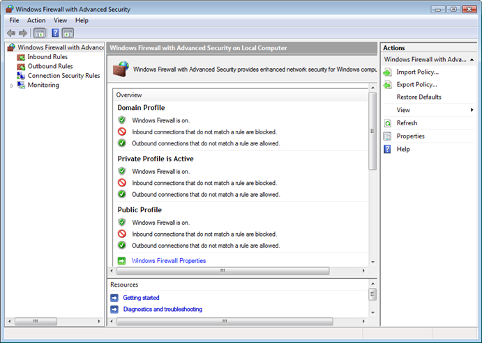 Windows Vista Ultimate: Which Firewall?