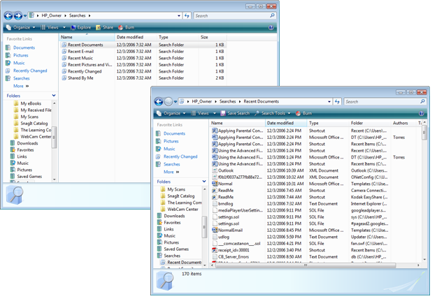 Windows Vista: Searching for Files and Folders