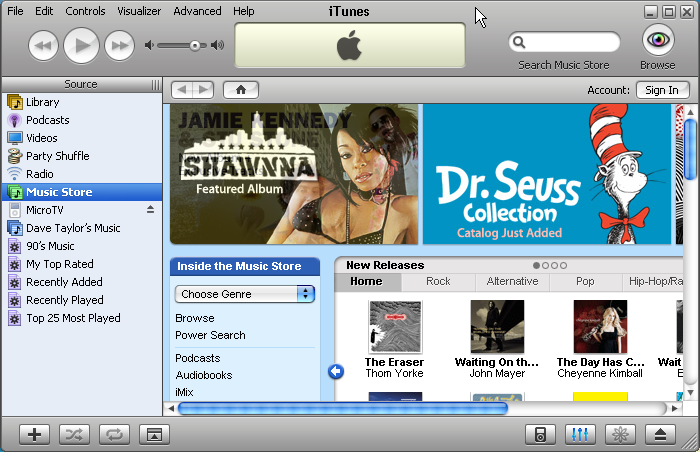 itunes 8 windows xp 64 bit