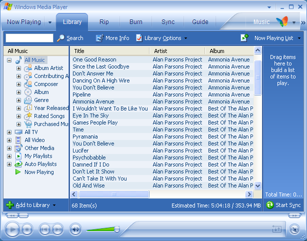 Windows XP / Apple iPod / Windows Media Player doesn't see the iPod