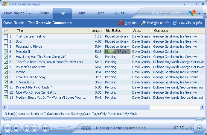 Convert WMA from Windows Media Player into MP3 files? - Ask Dave Taylor