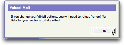 Warning: Yahoo Mail