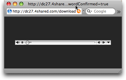 How do I download audio content from 4shared? - Ask Dave Taylor