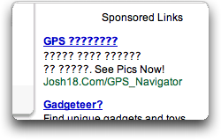 AdWords Failure