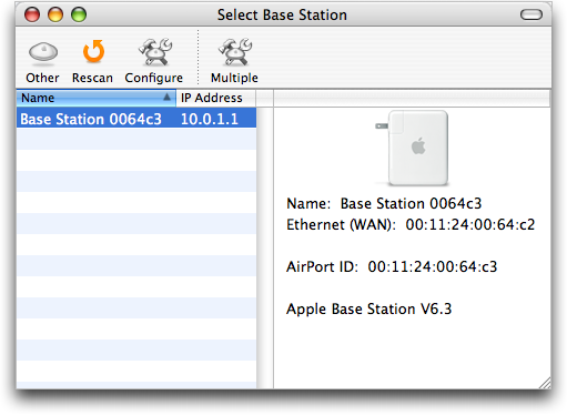 How does airport express hook up