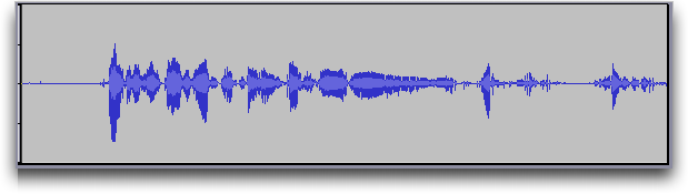 Audacity audio editor: Waveform View #1