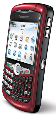 Blackberry Curve 8310 RED/CRANBERRY